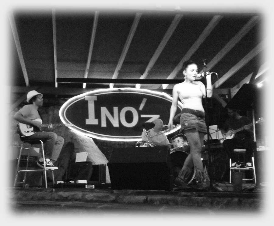 Live at Ino'z, Wimberley, TX - July 14, 2012